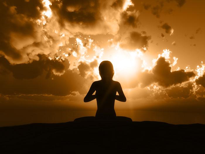 photo de méditation